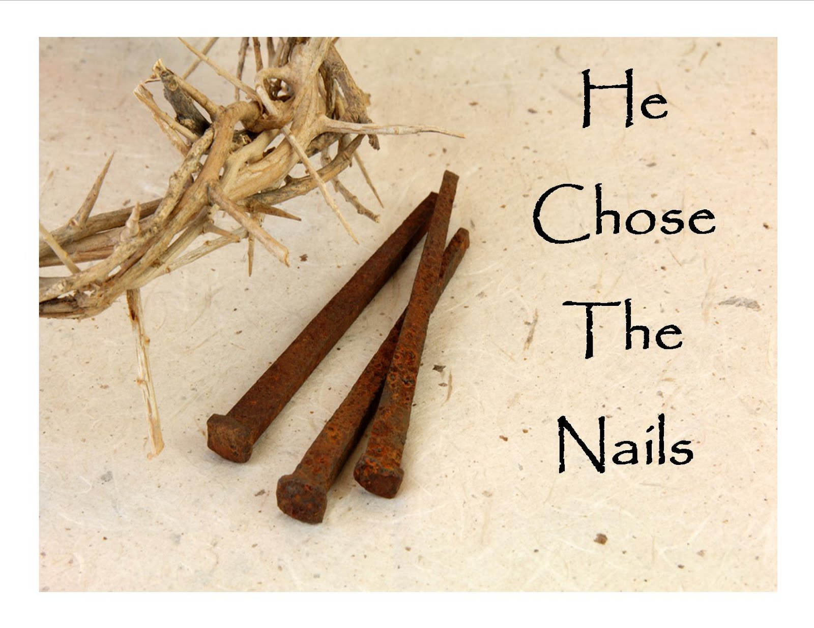 Image result for nails and a cross